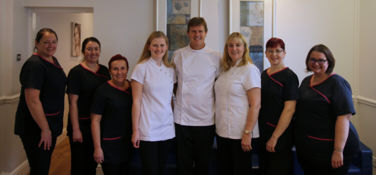 Dentist team old bank house dental surgery Leighton Buzzard